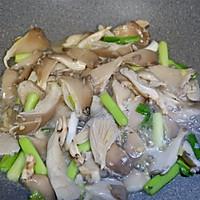 青蒜肉片炒鲜蘑的做法图解12