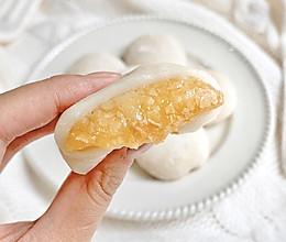 ㊙️无需烤箱❗️一次成功的燕麦雪饼❗会爆浆哦的做法