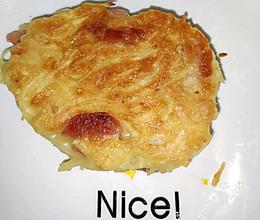 火腿土豆饼的做法