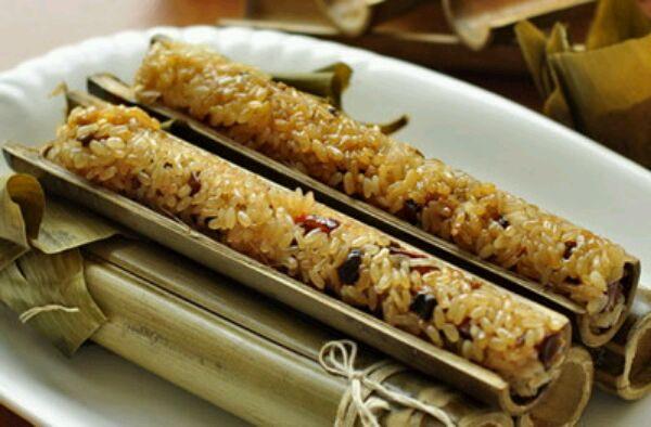 主料 适量 蜜枣适量 辅料   白糖适量 竹筒粽子的做法步骤 分类