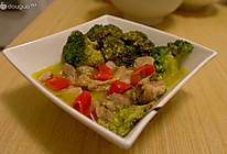 泰式绿咖喱鸡肉的做法