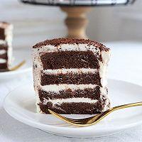 可可奶油脏蛋糕