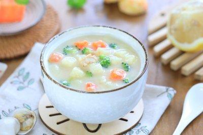 开胃土豆浓汤