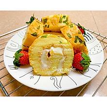 夹心肉松蛋糕卷(5个蛋)