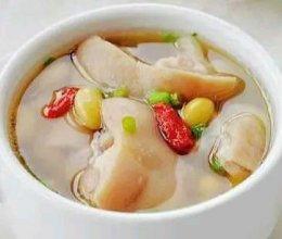 木瓜黄豆猪脚汤的做法