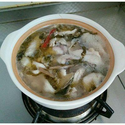 酸菜鱼的做法 步骤5