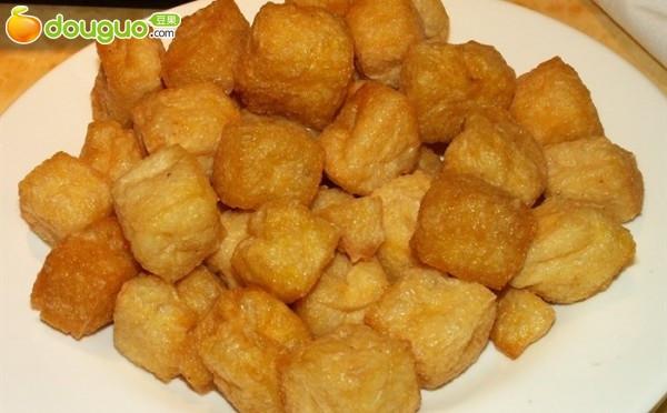 豆腐炒蒜黄的做法