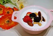 #换着花样吃早餐#低热量无糖酸奶的做法