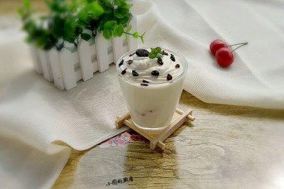 奶油酸奶杯