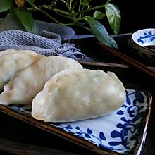 #馅儿料美食,哪种最好吃#烫面小白菜蒸饺