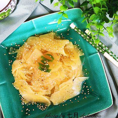 凉拌土豆片+
