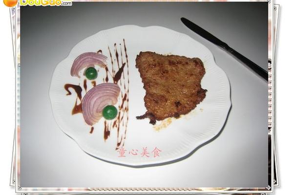 香煎牛排——看亚运.学粤菜的做法