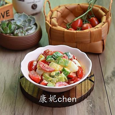 蔬果鸡蛋沙拉