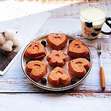 #童年不同样,美食有花样#可爱版红丝绒小蛋糕