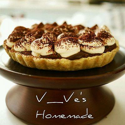 香蕉巧克力派【Pie】