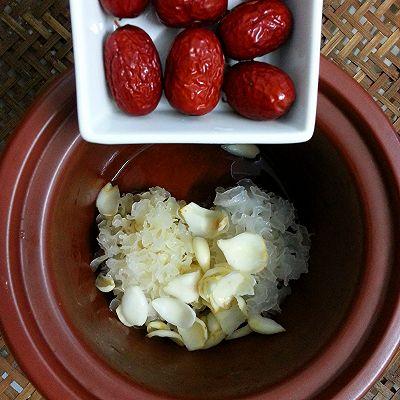 美丽尤物--银耳红枣羹的做法 步骤7