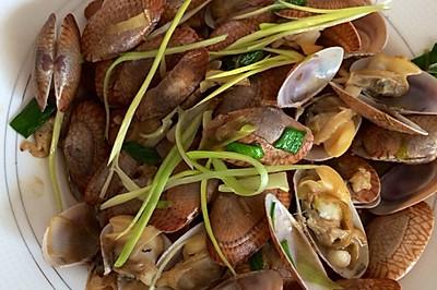 家常菜—姜葱花甲