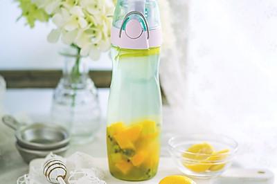 百香果柠檬排毒水#膳魔师美味出游季#