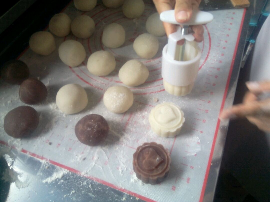 冰皮月饼的做法图解8