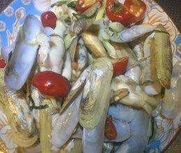 泡椒蛏子的做法