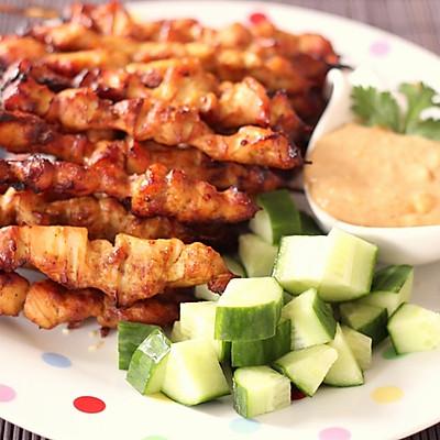 Malay satay 马来西亚烤鸡肉串