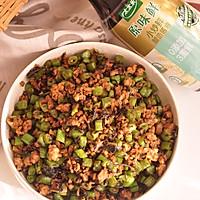 #相聚组个局#榄菜肉末四季豆的做法图解7