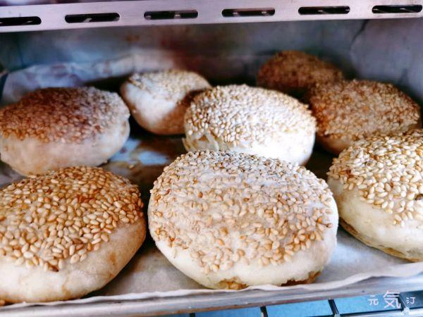 老北京麻酱烧饼~详细制作方法 | 元気汀的做法