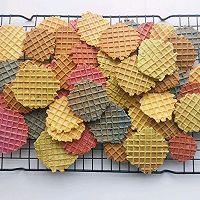 五彩薄脆饼 #520,美食撩动TA的心!#的做法图解10