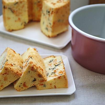 肉松海苔咸戚风蛋糕