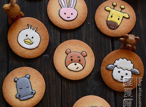 10种动物饼干的做法