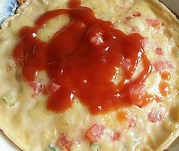 田野版的简易小披萨的做法