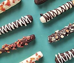 给孩子的零食,巧克力棒的做法