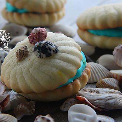 夏天Feel海洋气息---贝壳饼干