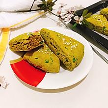 #美味烤箱菜,就等你来做!#藿香嫩叶杂粮司康