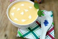 小甜品~南瓜奶油甜汤。的做法