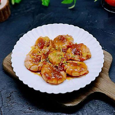 茄汁红虾尾