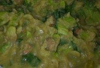 腌猪肉小白菜土豆泥的做法