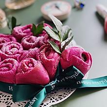 以爱之名 玫瑰花面包