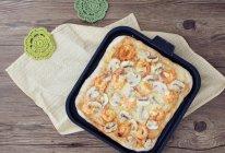 #苏泊尔煎烤机#鲜虾蘑菇披萨的做法