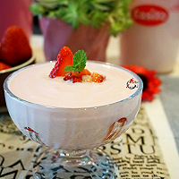 草莓酸奶#易极优DIY酸奶#的做法图解6