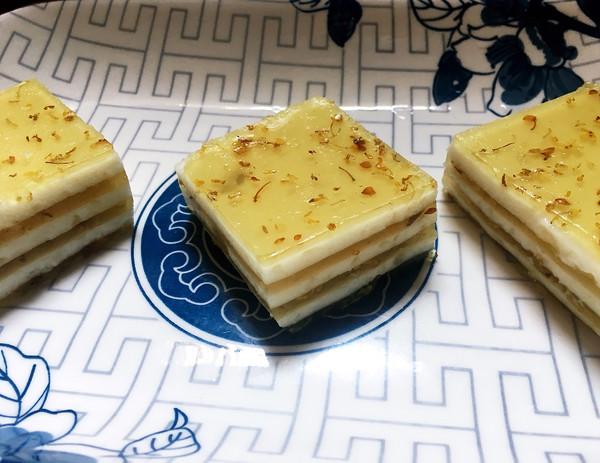 桂花椰汁马蹄糕的做法
