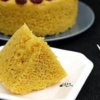 玉米面发糕#发现粗粮之美#的做法图解7