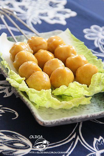 咖喱鱼丸的做法