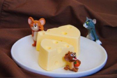 猫和老鼠的最爱!仿真奶酪慕斯