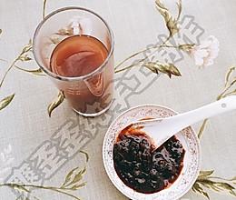 玫瑰红糖姜枣膏的做法