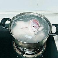 20汤锅:小米稀饭玉米面熟豆面鸡蛋煮肘子的做法图解9