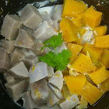 奶香香芋南瓜煲