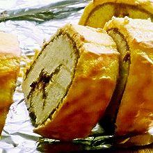 虎皮蓝莓酱蛋糕卷