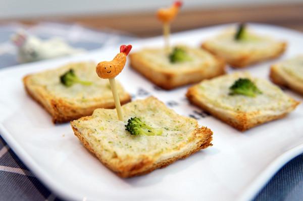 鲜虾吐司的做法
