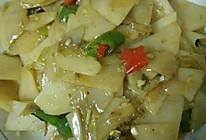 炒土豆片的做法
